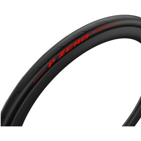 Pirelli P Zero Velo Foldedæk 700x25C Limited Edition, black/red